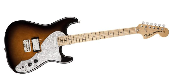 Fender Pawn Shop '70s Stratocaster Deluxe Electric Guitar 2-tone Sunburst Maple Fingerboard