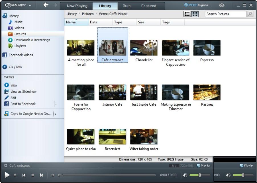 RealPlayer 18 Screenshots | Softwares | Download video
