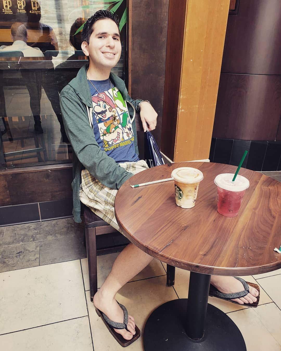 I Went To Starbucks At The Mall With One Of My Best