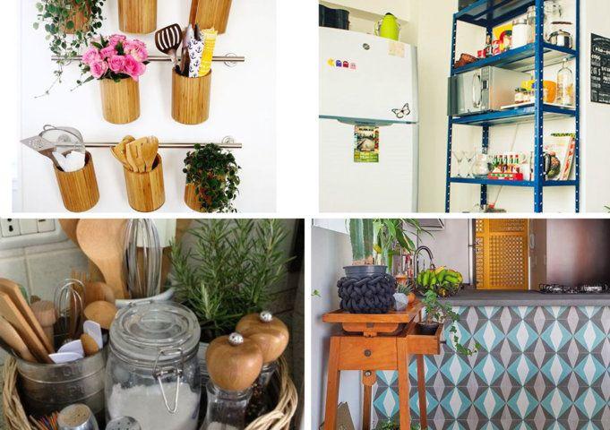 Como decorar cozinha americana barata   Como fazer...