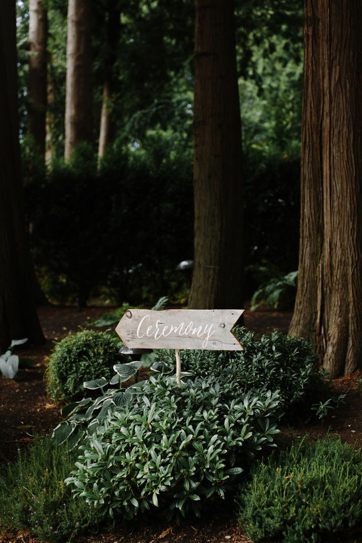 Wedding ceremony sign | fabmood.com #weddingceremonysign #weddingsign