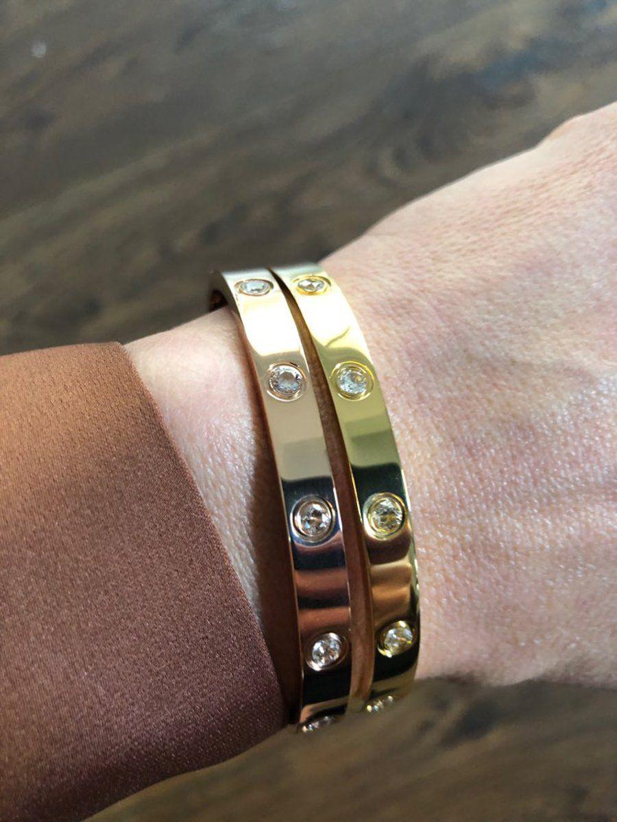 Heather Popular Crystal Hinge Bangle Bracelet In 2018 Bracelets