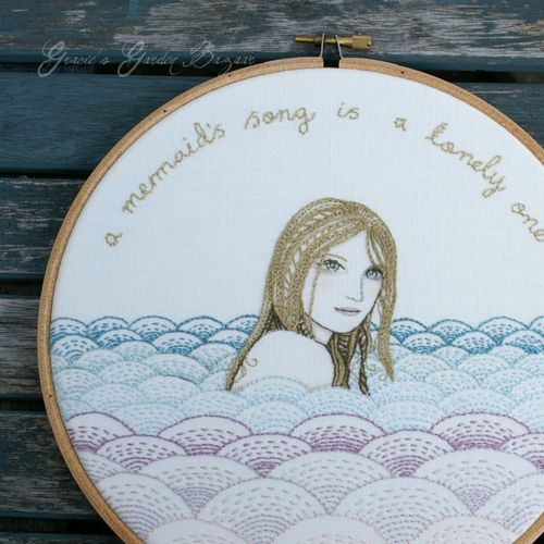 A mermaid's song is a lonely one…