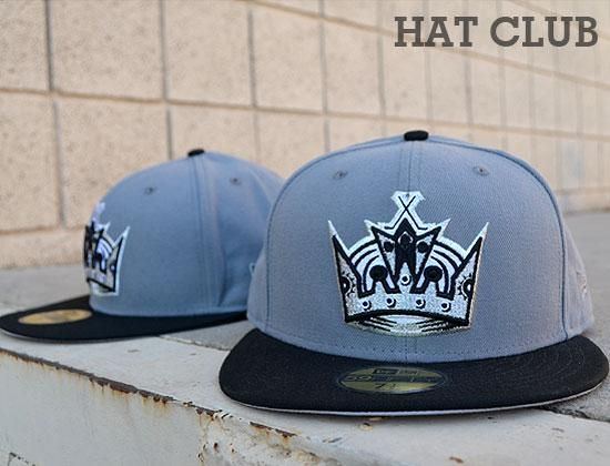 La Kings Crown New Era 59fifty Fitte Cap Available Now Hat Club Hats King Hat New Era