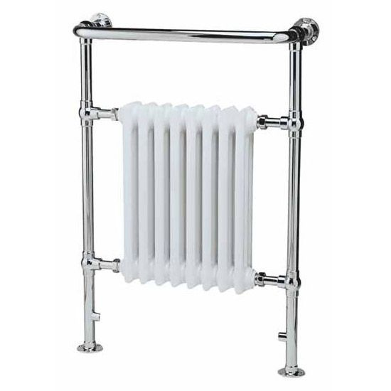 Traditional Heated Towel Rail 640 x 945mm - Chrome - Ex Display at Victorian Plumbing UK  Traditional Heated Towel Rail 640 x 945mm – Chrome – Ex Display  #945mm #chrome #display #Heated #Plumbing #Rail #Towel #Traditional #Victorian