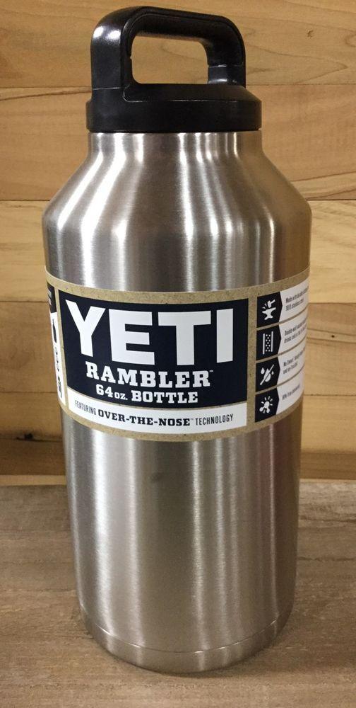 Yeti 64 Oz Stainless Rambler Tumblers X 2 New Authentic Yeti Rambler Tumbler Rambler Yeti