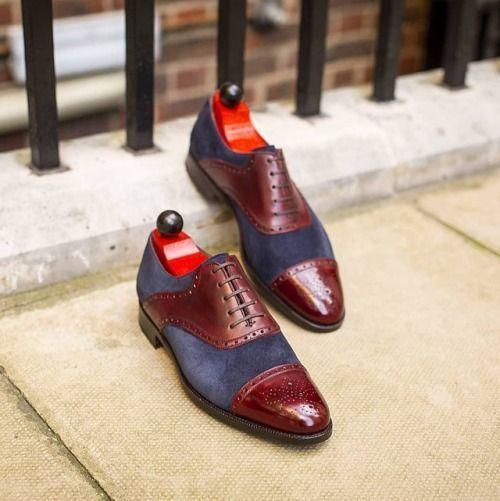 3e51f72d66b Men Lace-up Burgundy Brown shoes