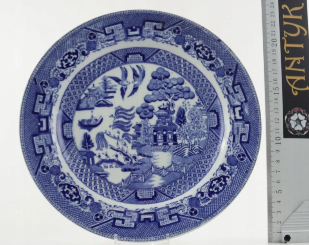 Antyk Talerz Willow Xix W 8470624963 Oficjalne Archiwum Allegro Decorative Plates Home Decor Plates