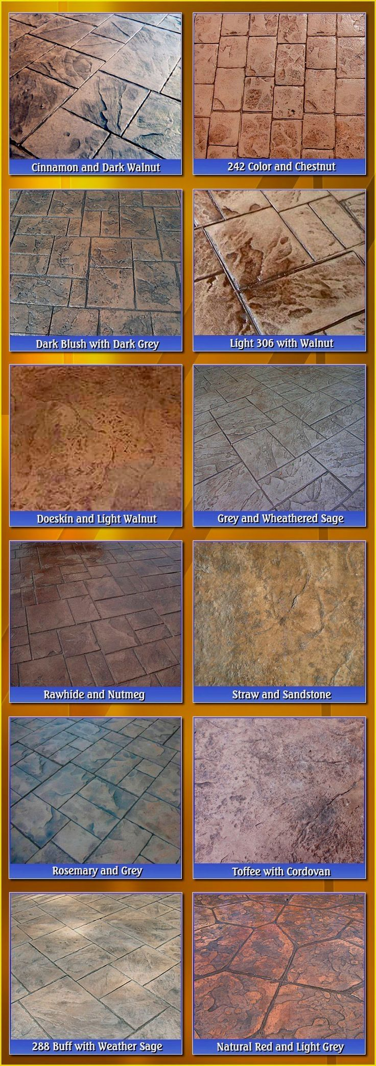 Stamped Concrete Patterns Patio You Could Always Create A More Spacious By Using Its Ceiling Stamped Concrete Colors Stamped Concrete Patterns Concrete Color