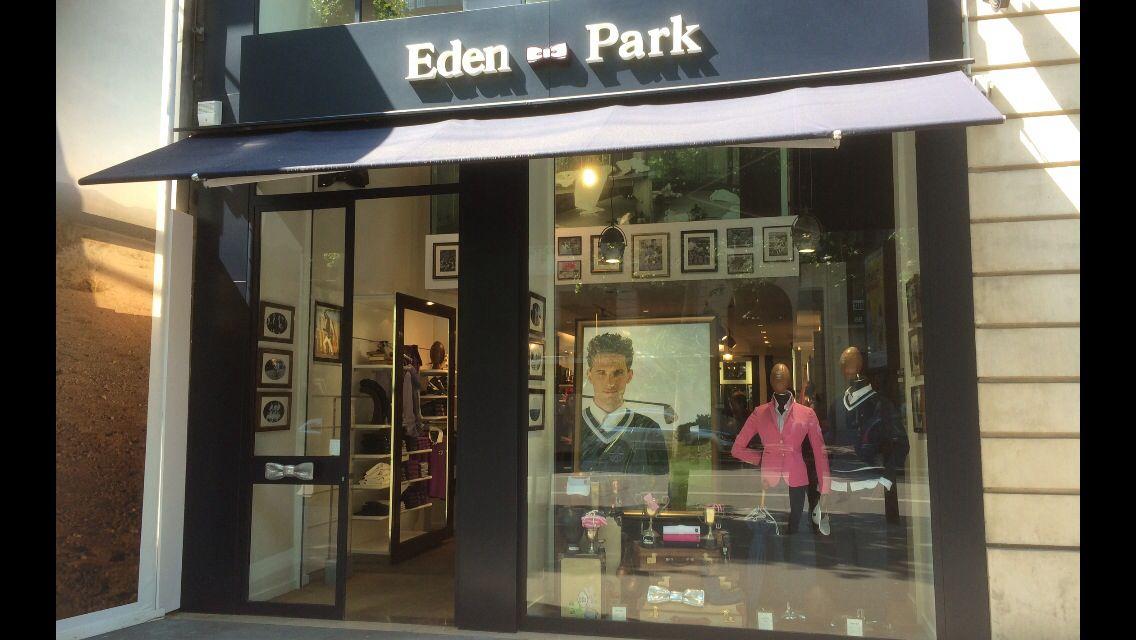d629d6caaa850 Eden - Park Paris..... | Shop Fronts | Eden park, Park, Shop fronts