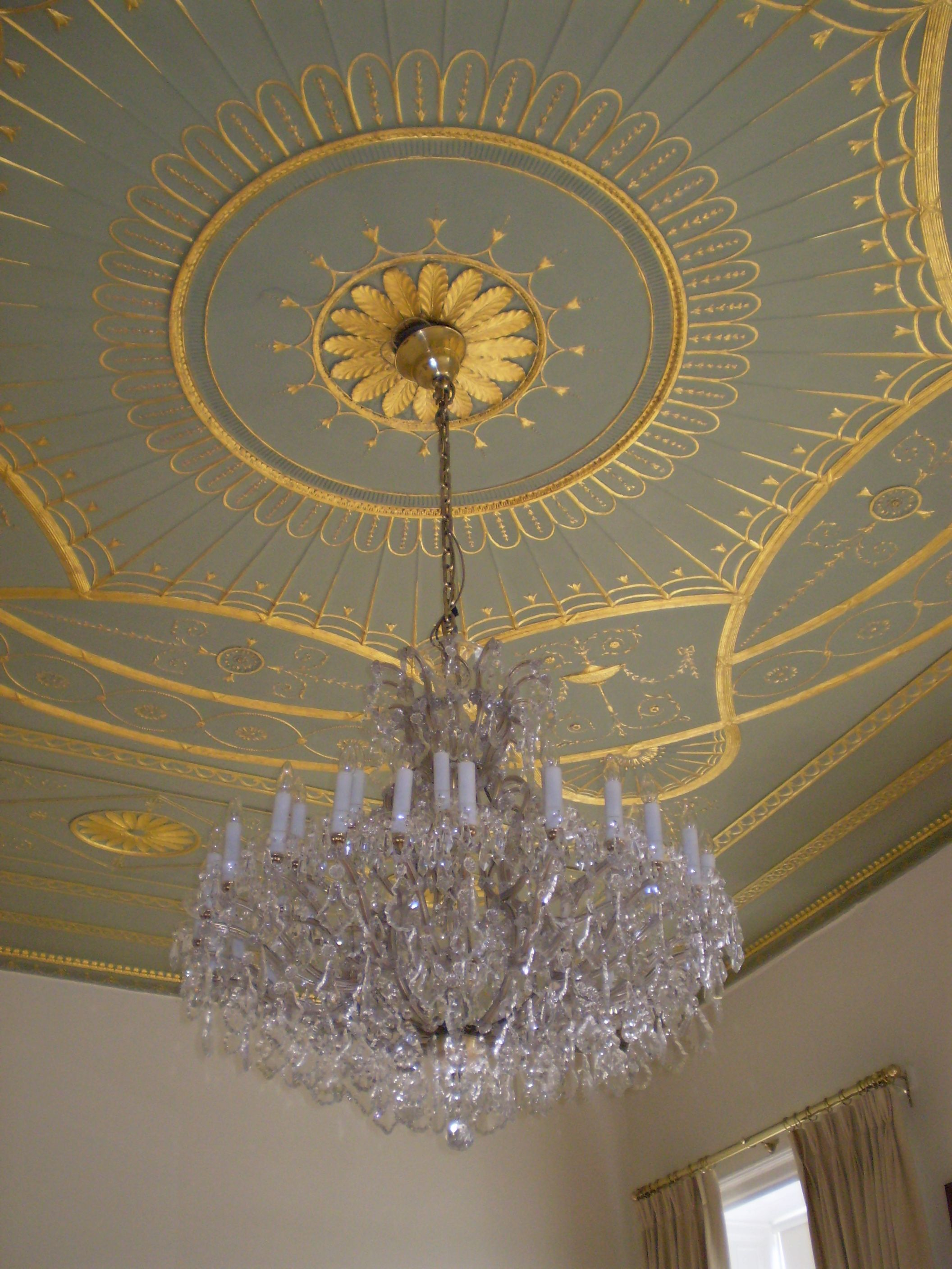 pin spray black like foam look metal light ceiling painted a paint to medallion white chandelier