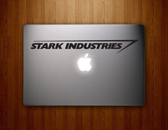 Iron man macbook decal mac book stickers macbook by hawkeyedecals 6 50 looove iron man