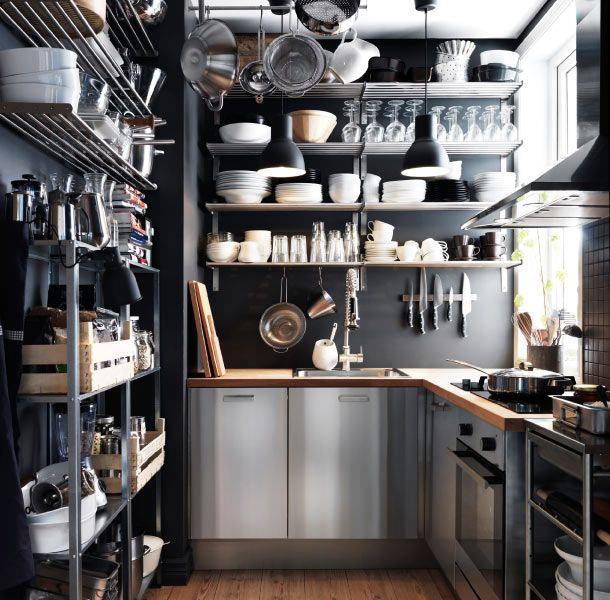 IKEA Stanless VS Wood Kitchen