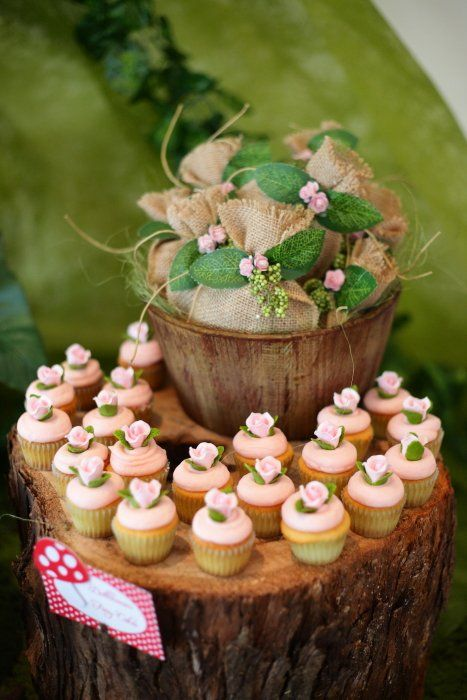 Enchanted Forest Dessert Table Styling Baby Shower Ideas