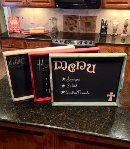custom barnwood frames chalk board green 3099 httpwww