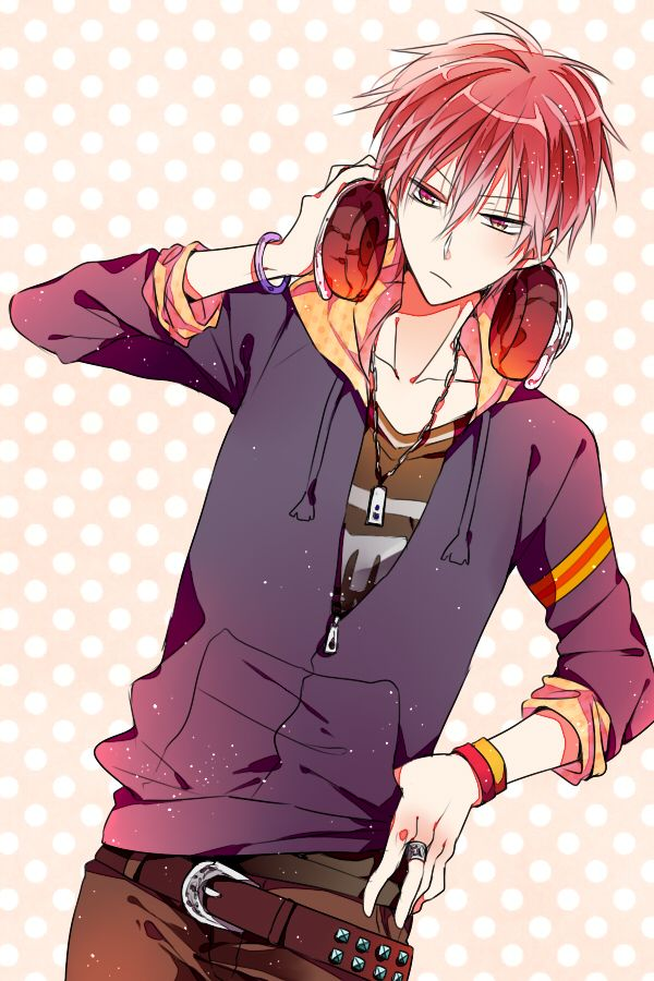Akashi Seijuurou 1713374 Zerochan Kuroko No Basket Kuroko Anime Boy With Headphones Basketball boy anime wallpaper