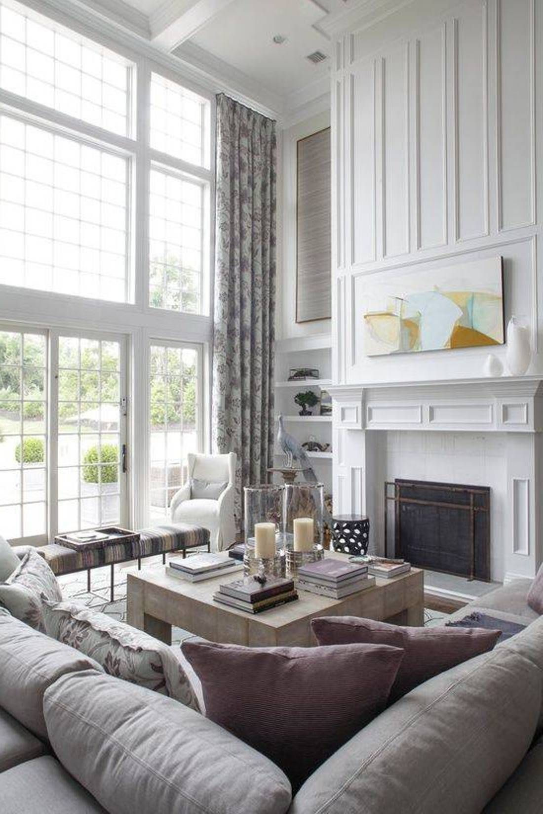 living room ideas for high ceilings high ceiling living on incredible tv wall design ideas for living room decor layouts of tv models id=96768