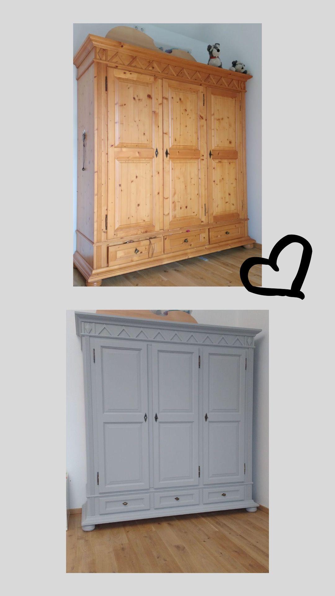 Möbel streichen mit Kreidelack