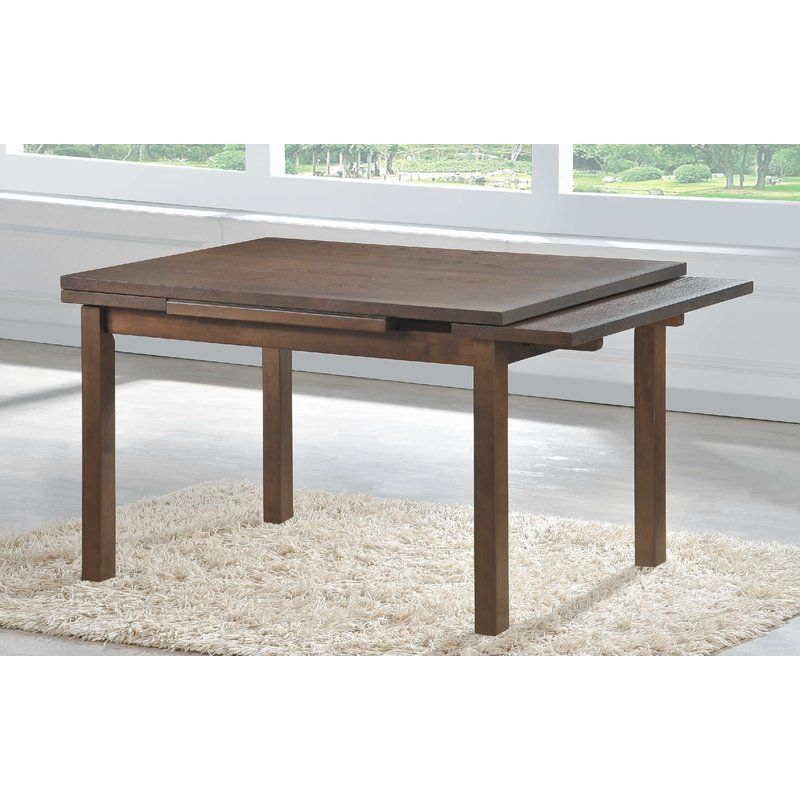 Topete End Leaves Solid Wood Dining Table Solid Wood Dining