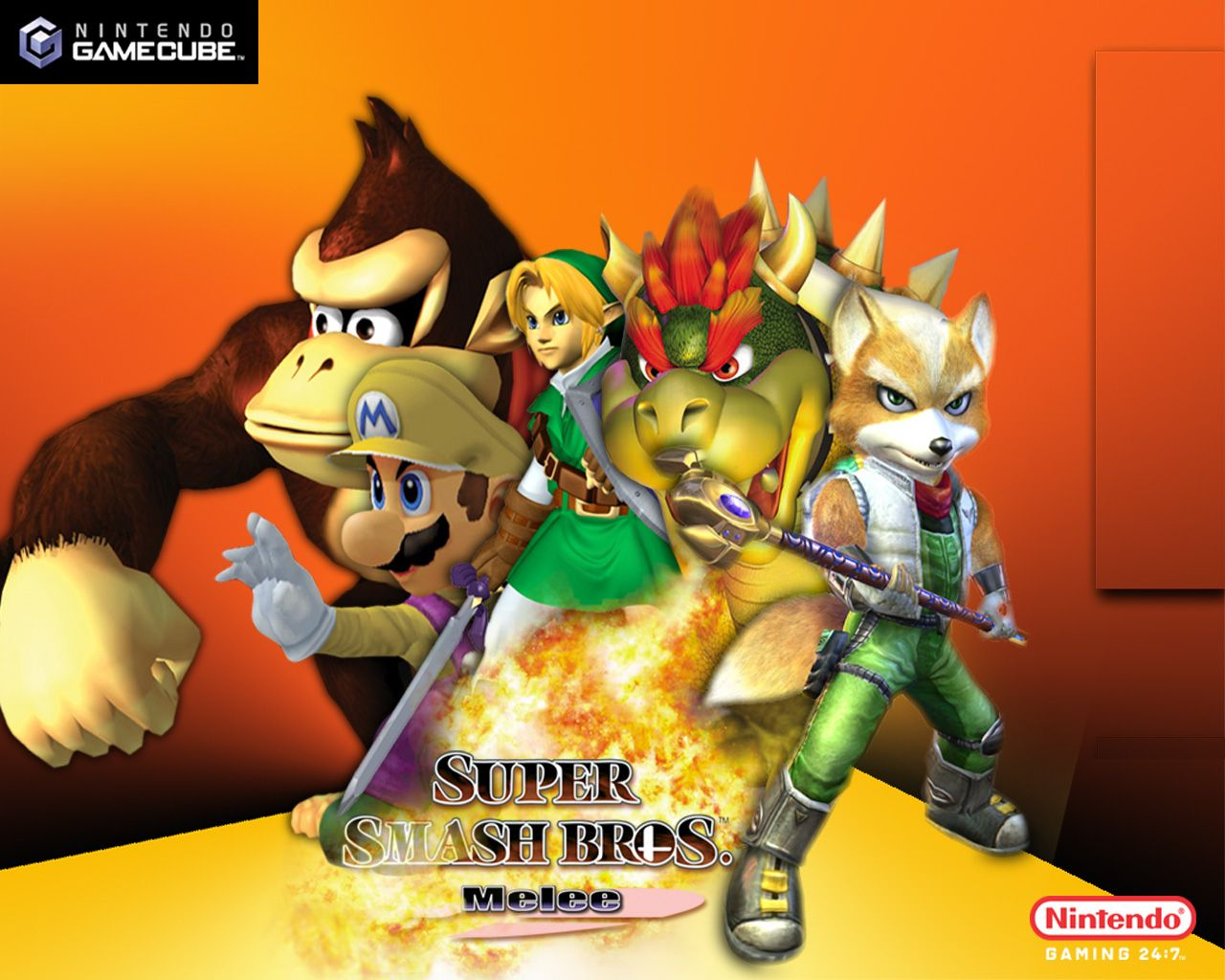 Super Smash Bros Melee Official Wallpaper