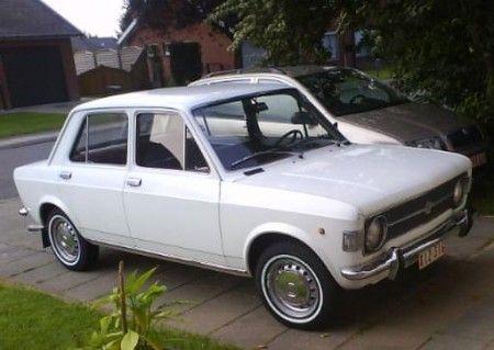 Fiat 128 Bianca Prima Auto Ricordi Auto Da Sogno
