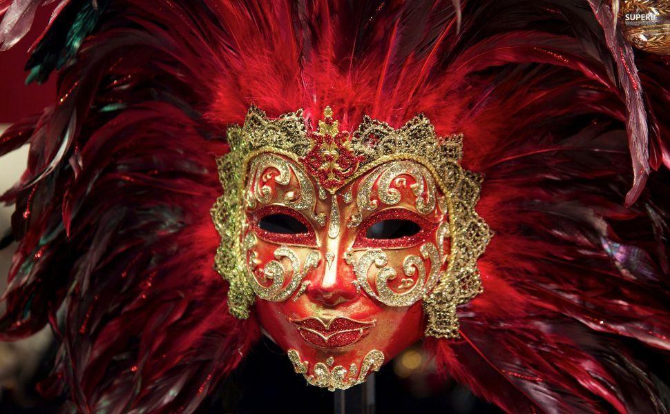 Venetian mask hd wallpaper wallpapers mask painting - Carnival wallpaper ...