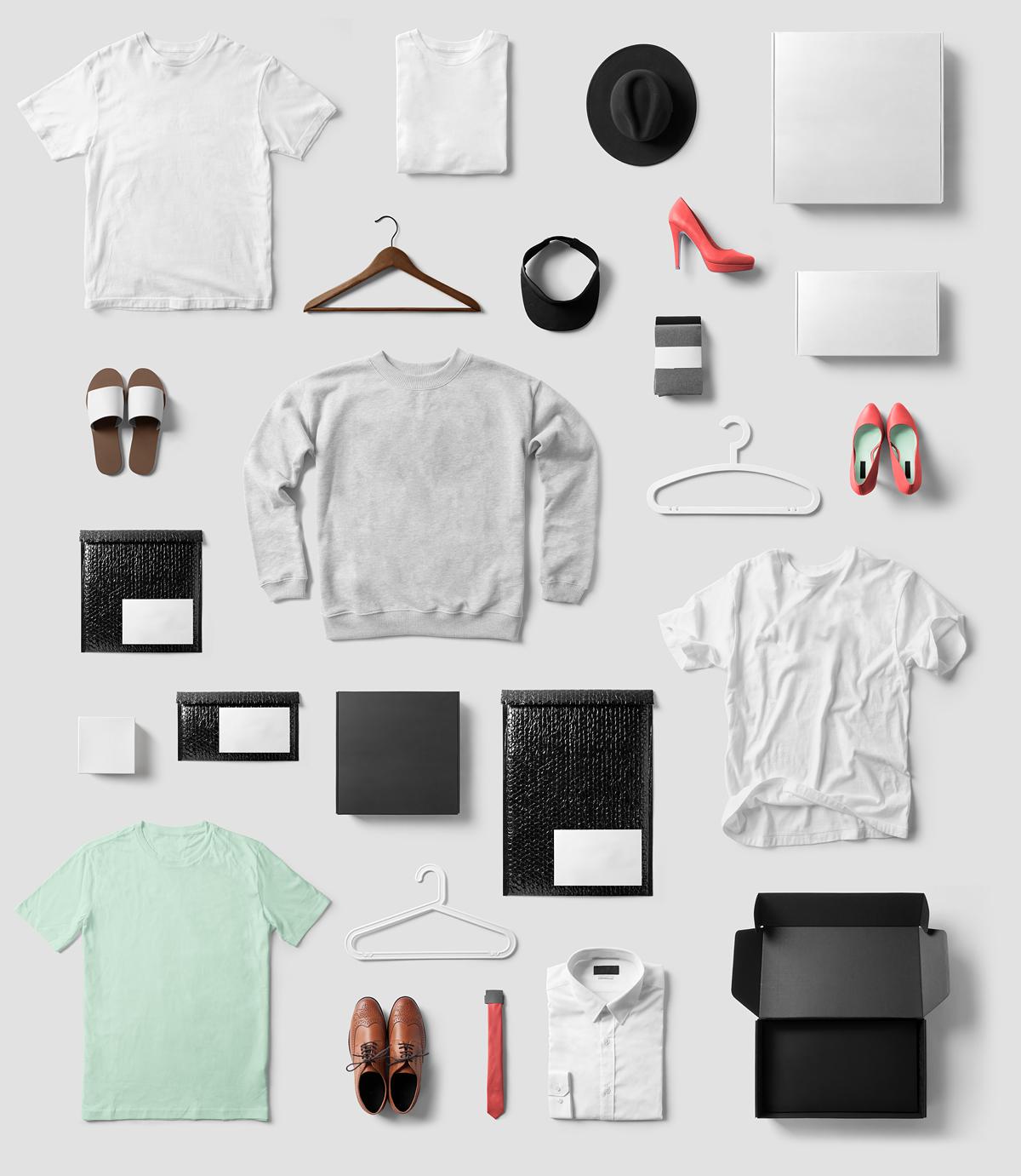 Fashion & T-Shirt PSD Mockup Based On Professional Photos