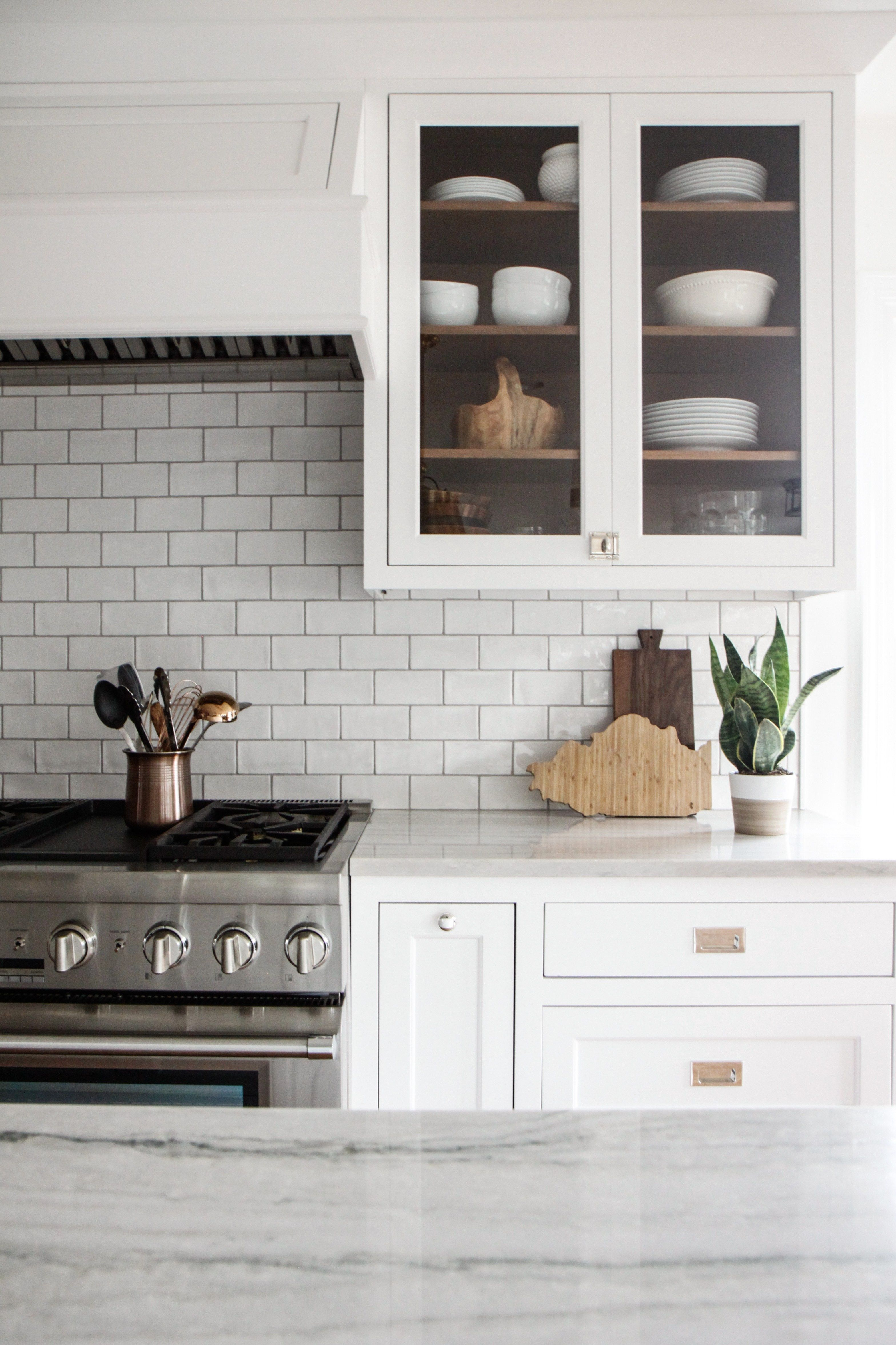 It S No Secret That We Love White Here At P O It Might Be A Secret That Finding The Perfect Whites A Lake House Kitchen Kitchen Cabinet Design Home Kitchens