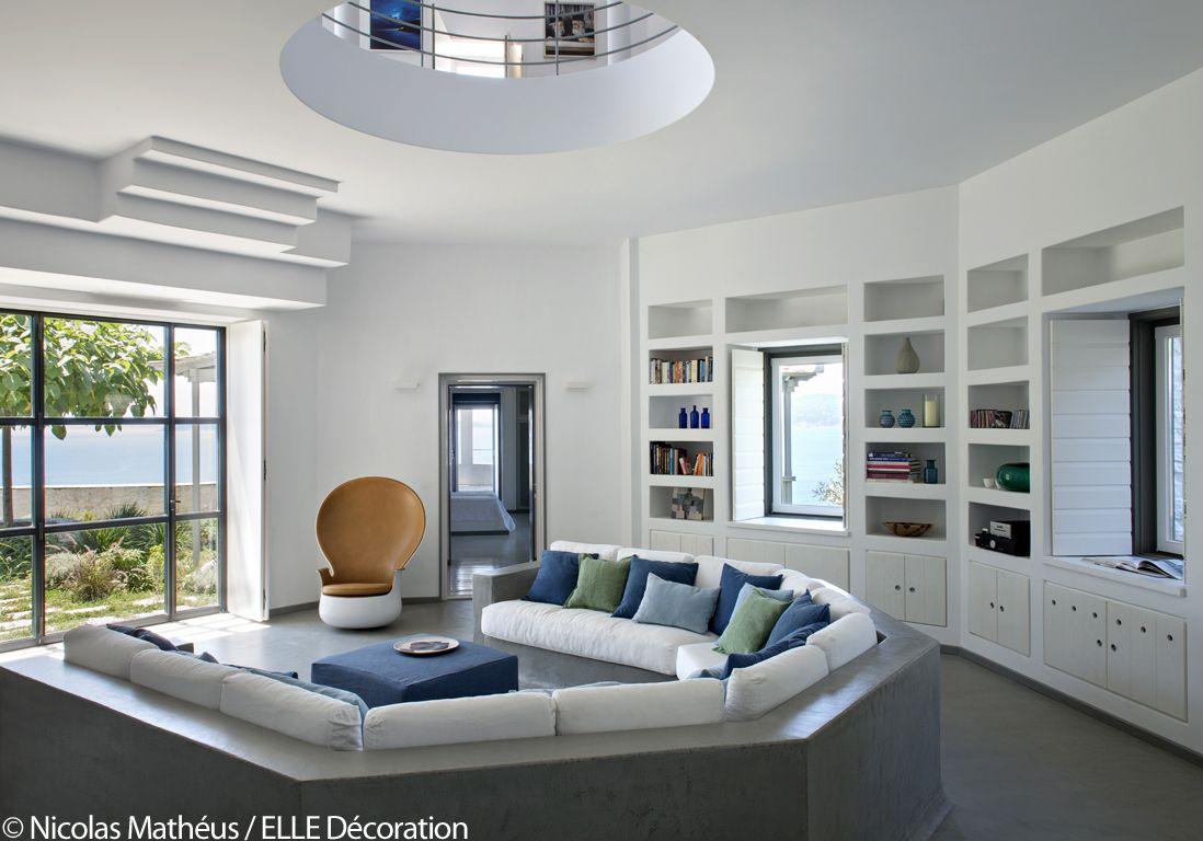 une maison grecque la vue poustouflante elle d coration maison grecque la vue et grec. Black Bedroom Furniture Sets. Home Design Ideas