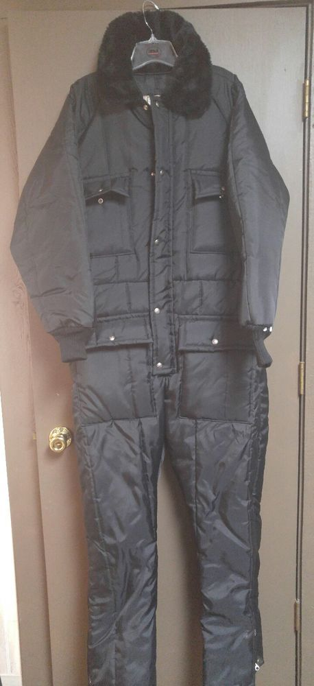 walls blizzard pruf insulated snowmobile suit mens large on walls coveralls for men insulated id=76132
