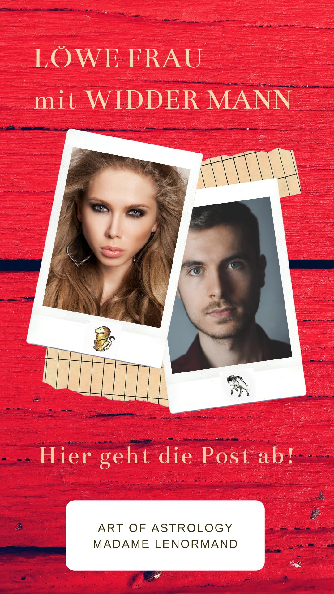 Widder-Mann & Löwe-Frau Liebe und Partnerschaft | Löwe