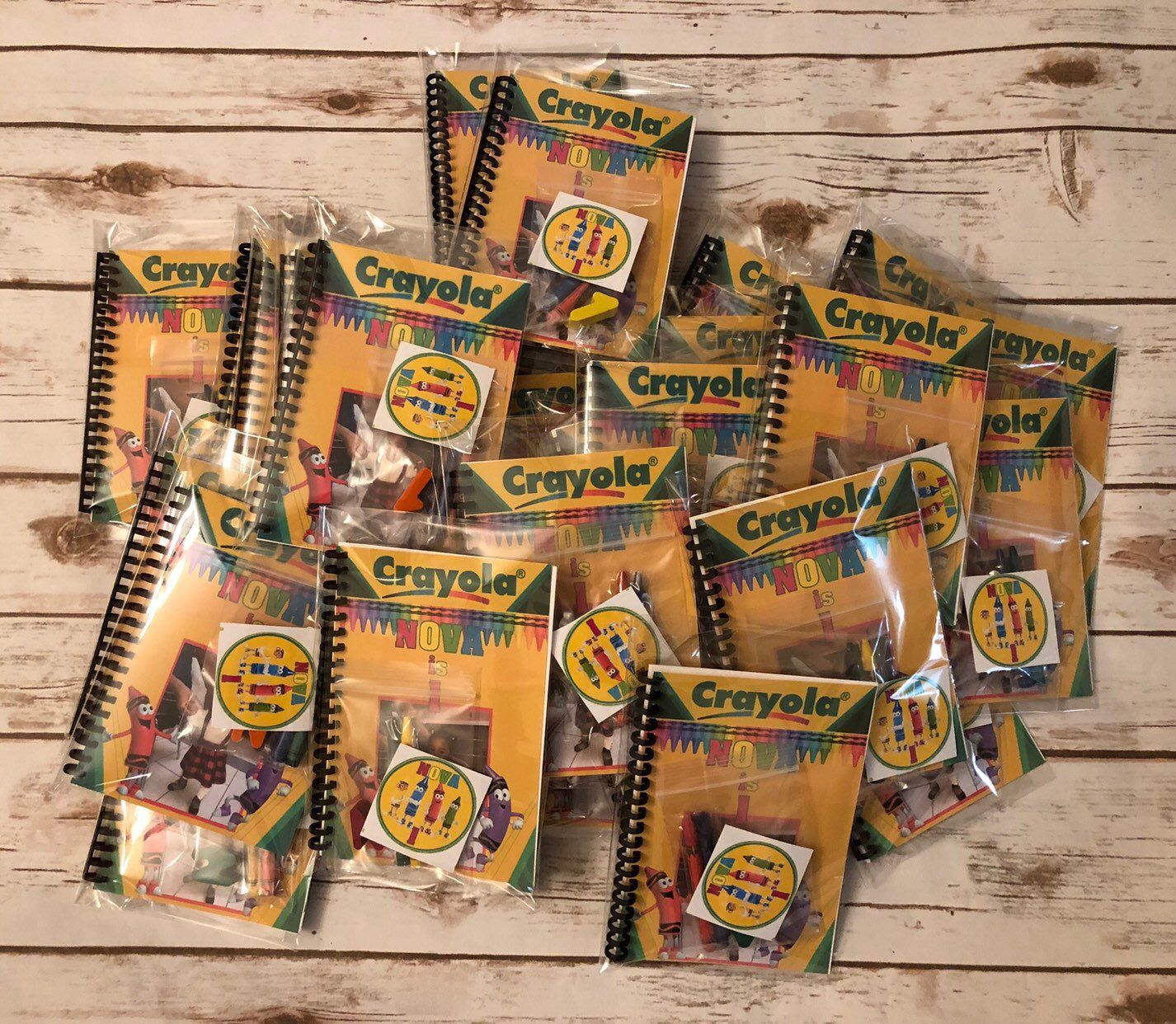 Excited To Share The Latest Addition To My Etsy Shop Coloring Book Party Favor Packs Crayola Theme Birt Crayola Birthday Party Birthday Supplies Book Favors