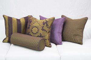 Renaissance Pillow Collection from Designer8* #partyrentals #eventfurniturerental #eventloungerental