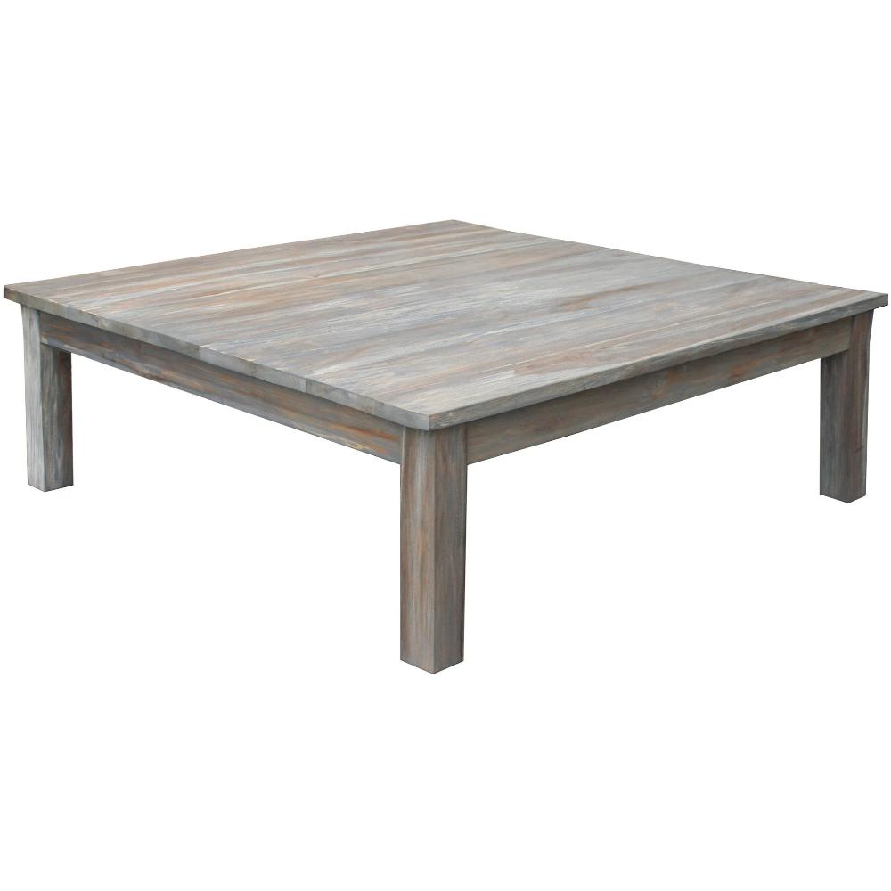Teak Wood Grey Wash Rustic Coffee Table 48 Coffee Table Rustic Coffee Tables Handcrafted Coffee Table [ 1000 x 1000 Pixel ]