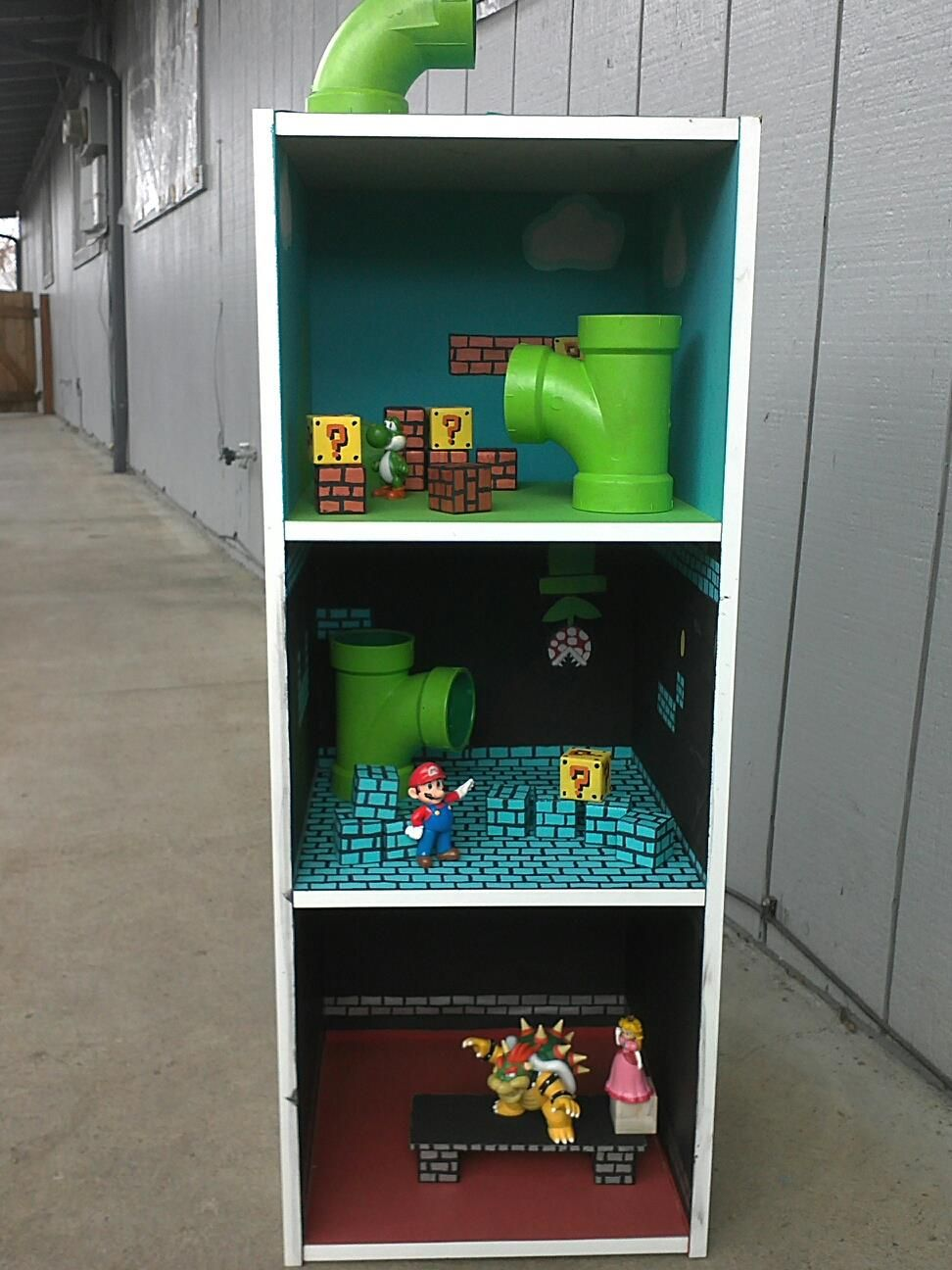 I made a mario dollhouse for my boys this picture is from