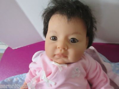 Lee Middleton Doll Asian Baby Doll Extra Clothes Box Coa 2006 19
