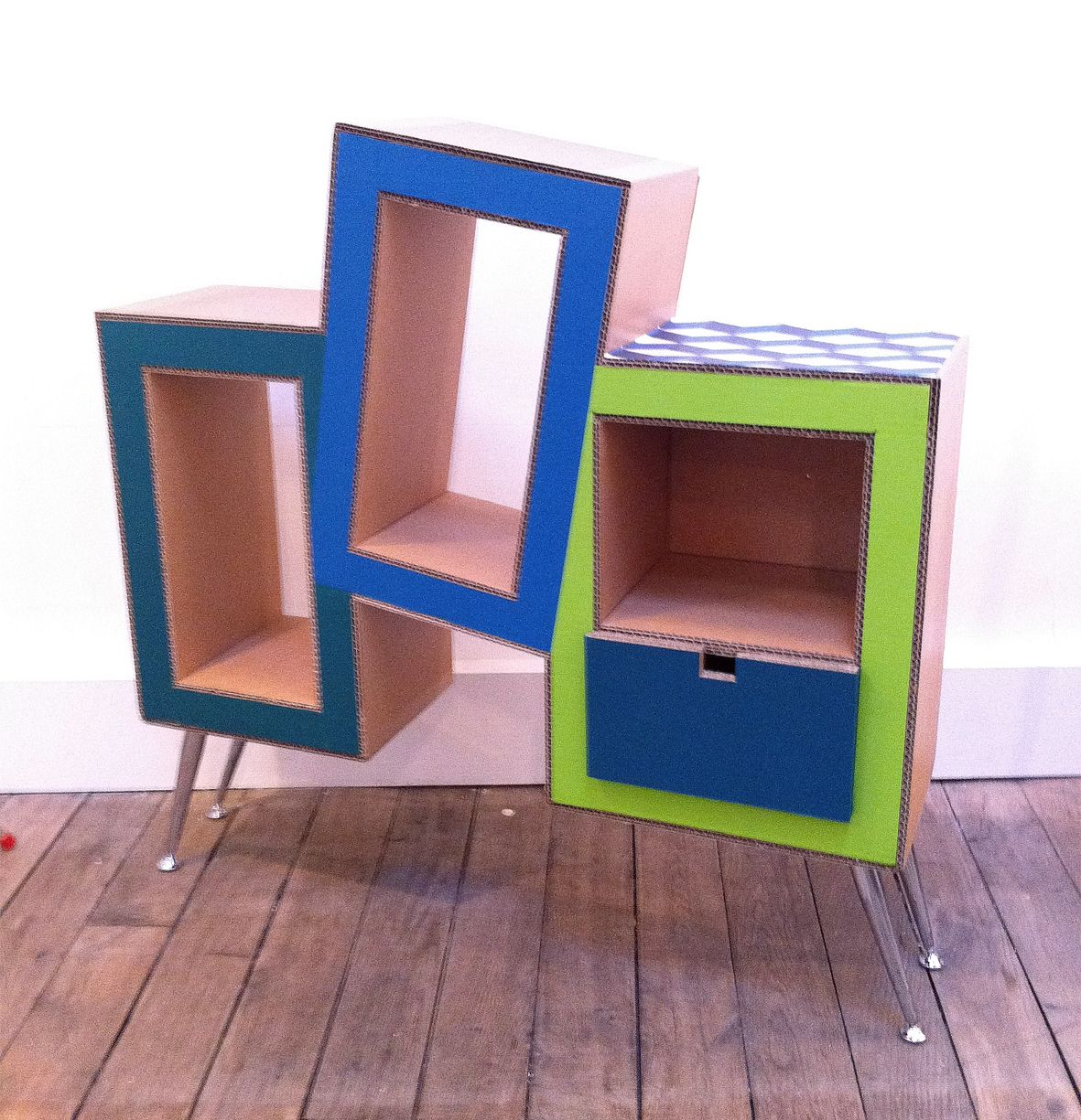 Commode En Carton Commode En Carton 1 Kardus Cardboard Furniture