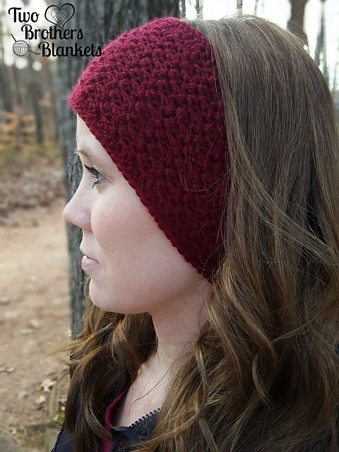 Boston Earwarmer pattern by Michelle Ferguson | HATS by Ida Green ...