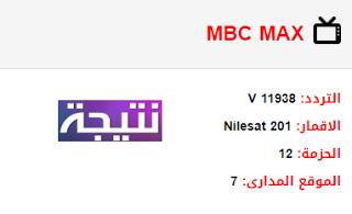 تردد قناة ام بي سي ماكس Mbc Max الجديد 2018 على النايل سات Max Ios Messenger
