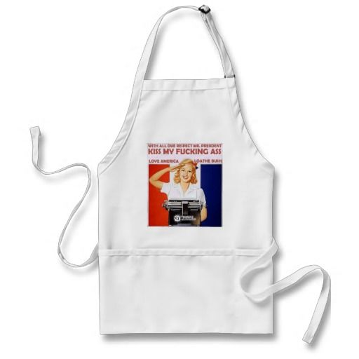 anti bush design apron