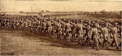 Portuguese troops in training.  Tancos, Portugal