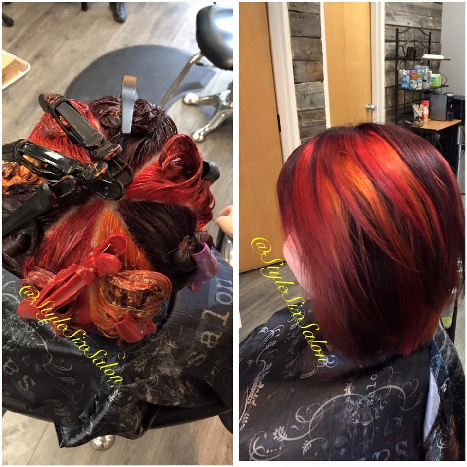 Pinwheel Coloring Hair Color Techniques Hair Color Hair
