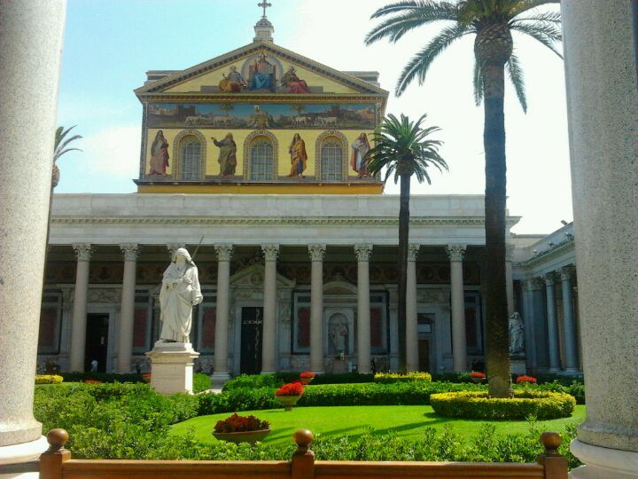 Basilica Di San Paolo Fuori Le Mura Basilica San Paolo