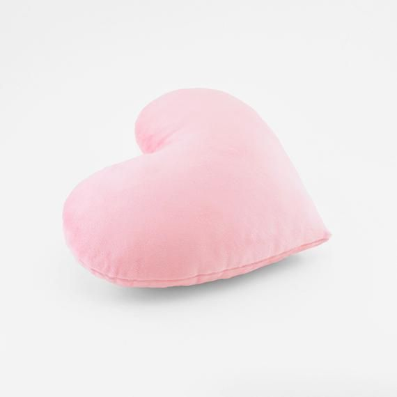 heart shaped throw pillow 12x14 inches