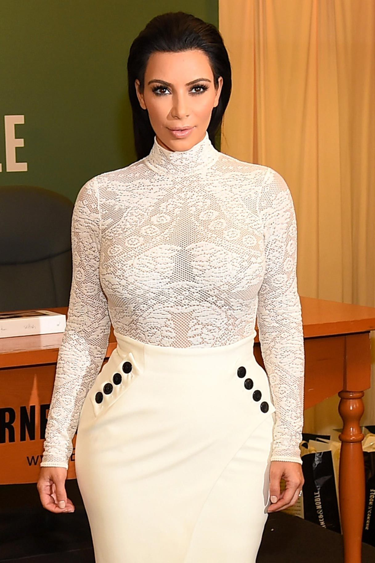 Stop What You're Doing Kim K. Debuts New Kimojis and They