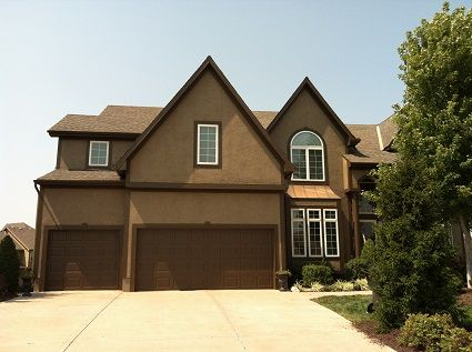 Exterior house painting tone on tone dark browns home exterior colors pinterest house - Exterior house colors brown ...