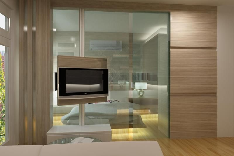 Bedroom Led Wall Design : Led tv panels designs for living room and bedrooms