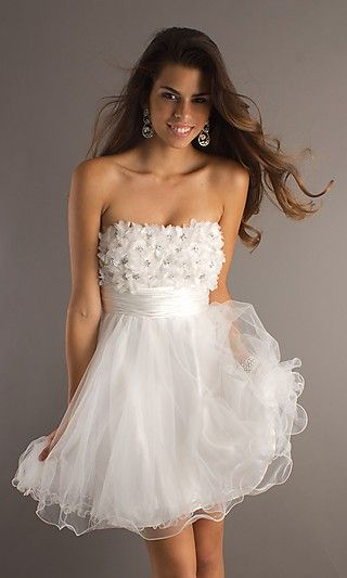 Actually got this for homecoming<3 except in light purple. In <3