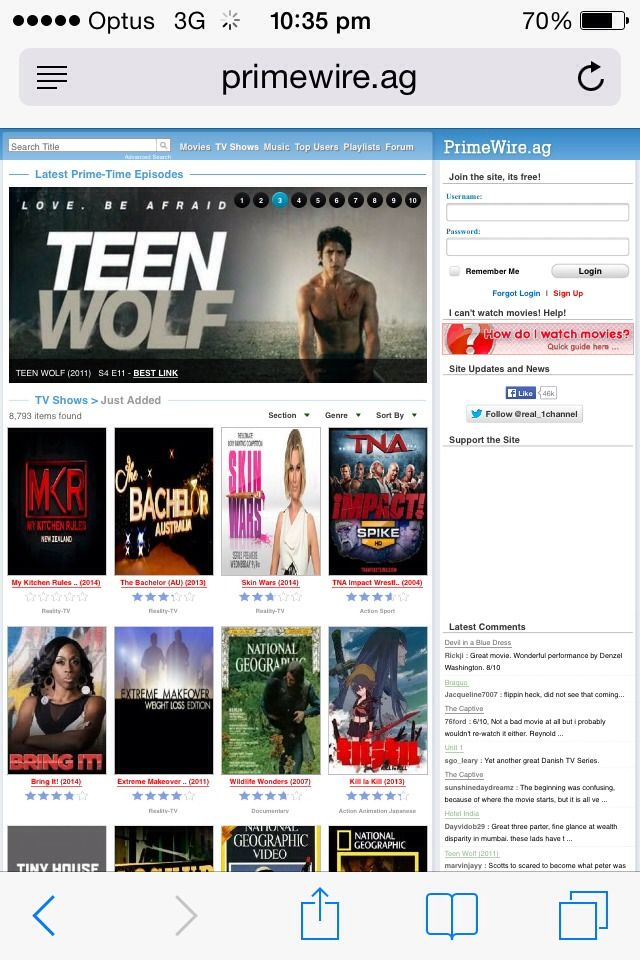 Websites To Watch Tv Shows And Movies Free On iPhone #Entertainment ...