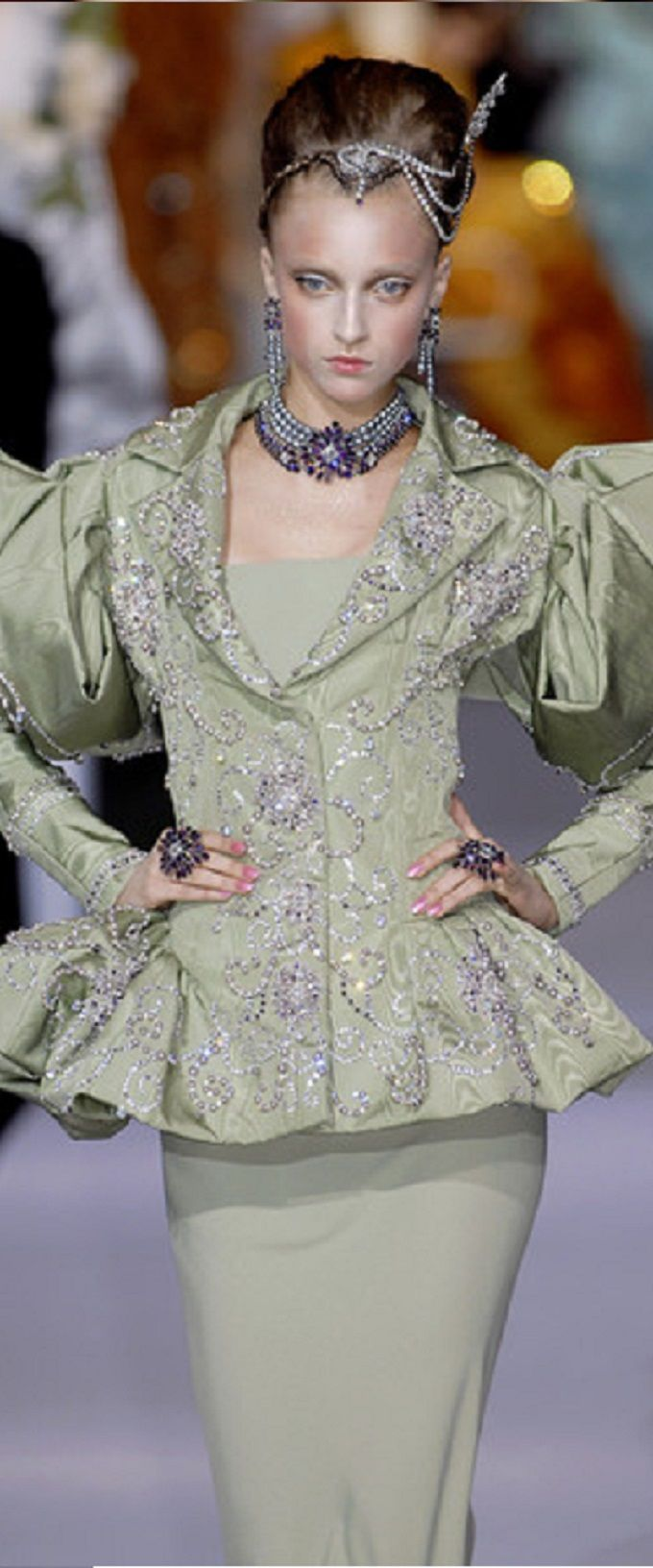 www.2locos.com Christian Dior fall 2007 by John Galliano